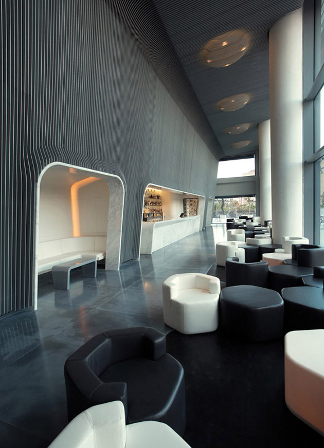 Marc Newson * Influential Designer and Unique Design Hotel Puerta America Madrid 2005 Madrid