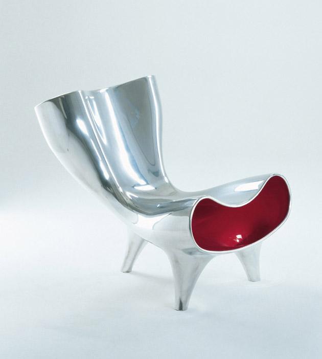 Marc Newson * Influential Designer and Unique Design Orgone Chair 1993 Pod