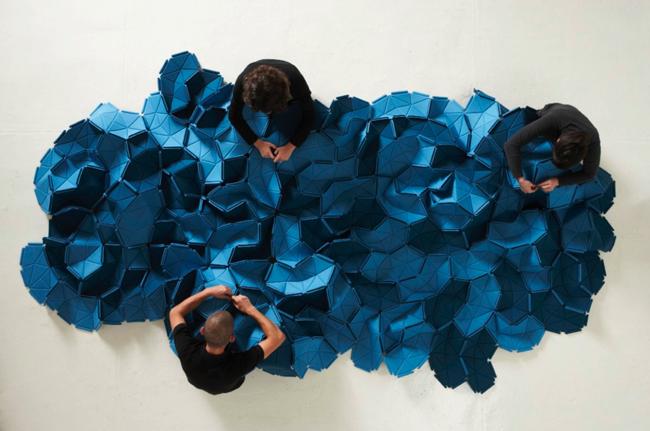 Ronan & Erwan Bouroullec * 15 years of design Works Bouroullec Clouds for Kvadrat 3