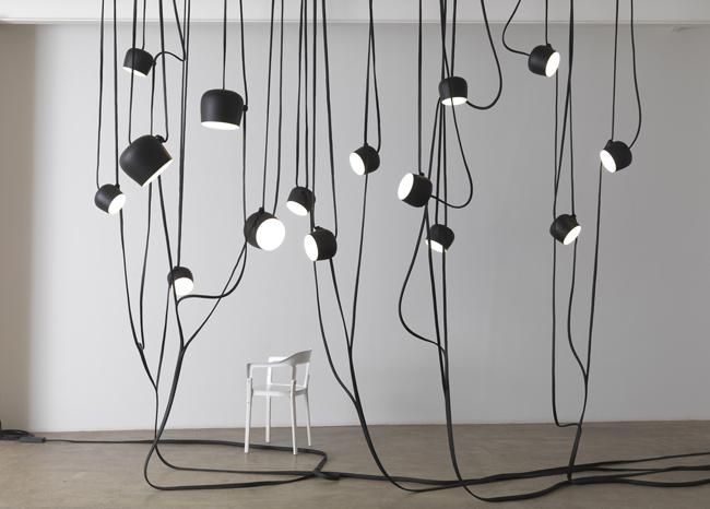 Ronan & Erwan Bouroullec * 15 years of design Works Bouroullec Lianes at Galerie Kreo