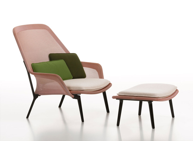 Ronan & Erwan Bouroullec * 15 years of design Works Bouroullec Slow chair for Vitra