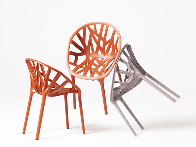 Ronan & Erwan Bouroullec * 15 years of design Works Bouroullec Vegetal chair for Vitra