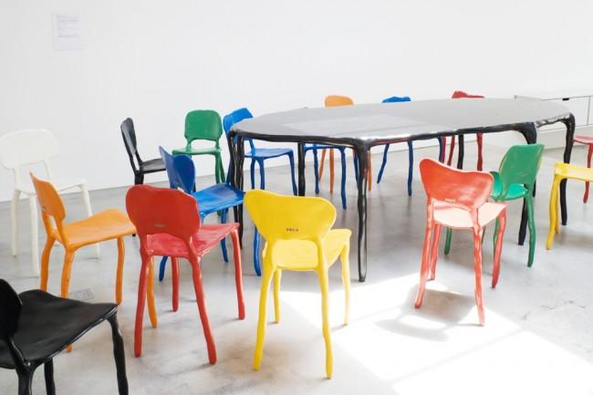 Marteen Baas * the design world baas clay furniture2 glitter smoke foto2 e1348090683532