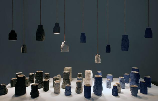 Industrial Design Pixel Vases * Julian F. Bond Pasquale Palmieri by Maria Passarivaki 4