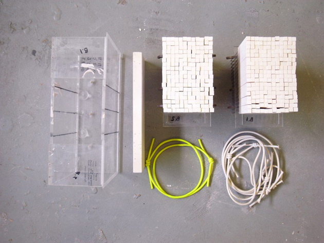 Industrial Design Pixel Vases * Julian F. Bond The Pixel Casting machine 1