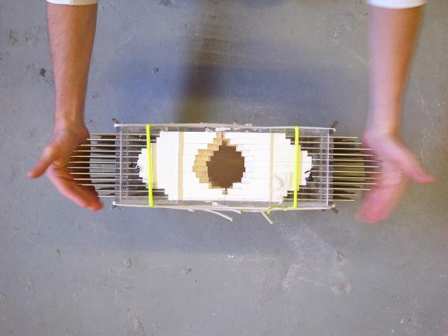 Industrial Design Pixel Vases * Julian F. Bond The Pixel Casting machine 3