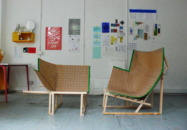 Paper Planes * armchair paperchair