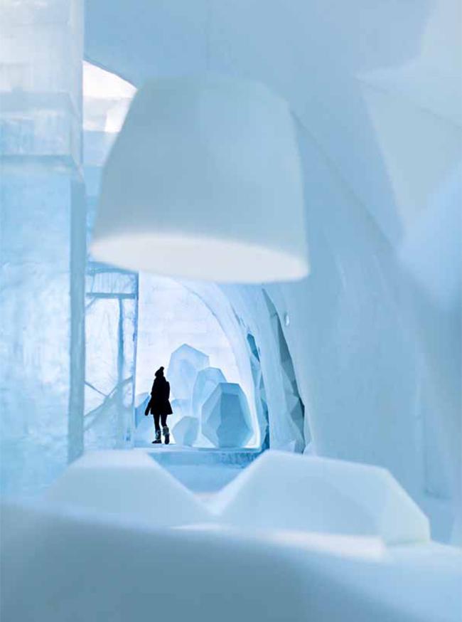 Swedish Design * Milan '13 img1 Swedish Design Milan Design Week Ice Hotel
