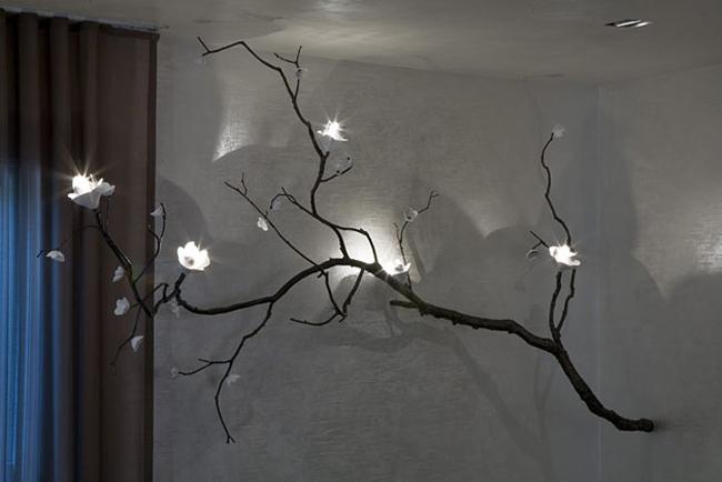 David Wiseman * R Gallery  5 Branch Illeminated Sculpture