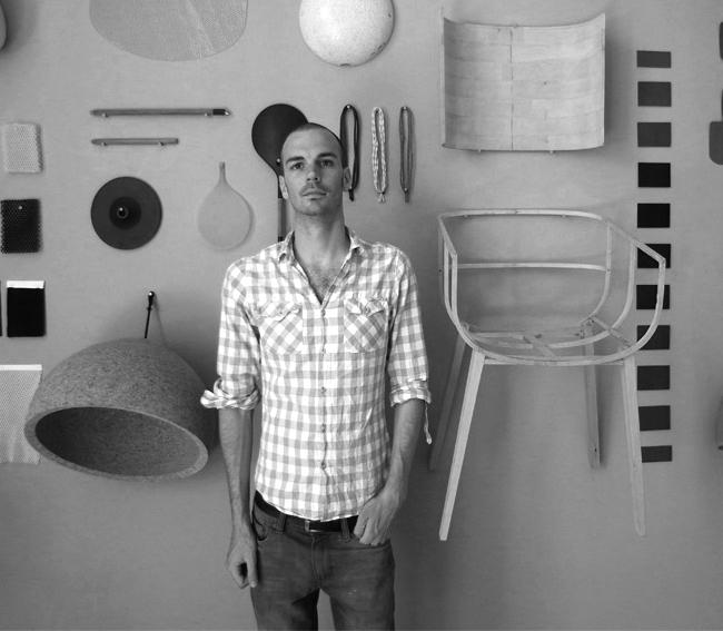 0. benjamin hubert Benjamin Hubert * Loom Organic Textile Lamp