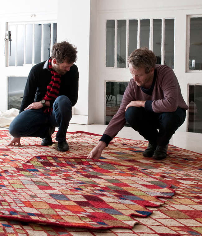 0. losanges rug  Losanges Rug Collection * Bouroullec Brothers