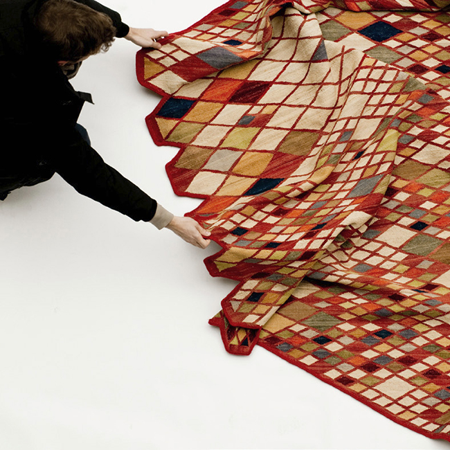 1. losanges rugs ronan erwan  Losanges Rug Collection * Bouroullec Brothers