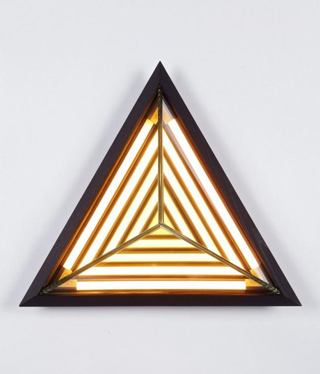 Unique triangular lamp by Rosie Li  Unique Triangular Lamp * by designer Rosie Li 2 Stella Triangle by Rosie Li 05