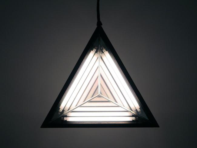 Unique triangular lamp by Rosie Li  Unique Triangular Lamp * by designer Rosie Li 3 Stella