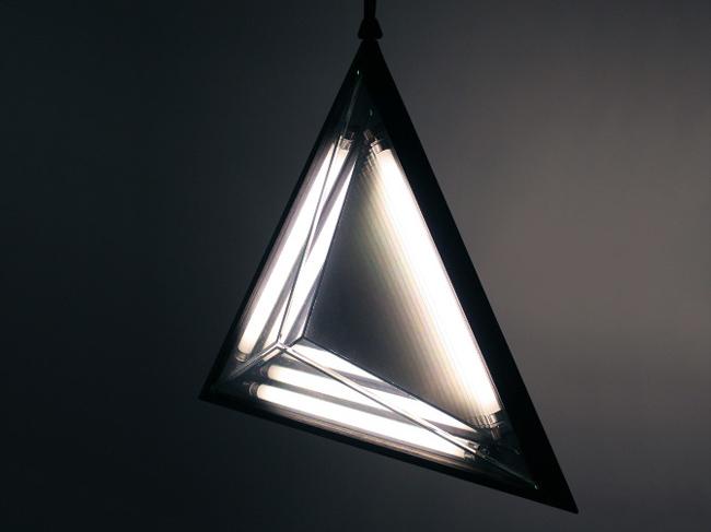 Unique triangular lamp by Rosie Li  Unique Triangular Lamp * by designer Rosie Li 4 Stella Triangle