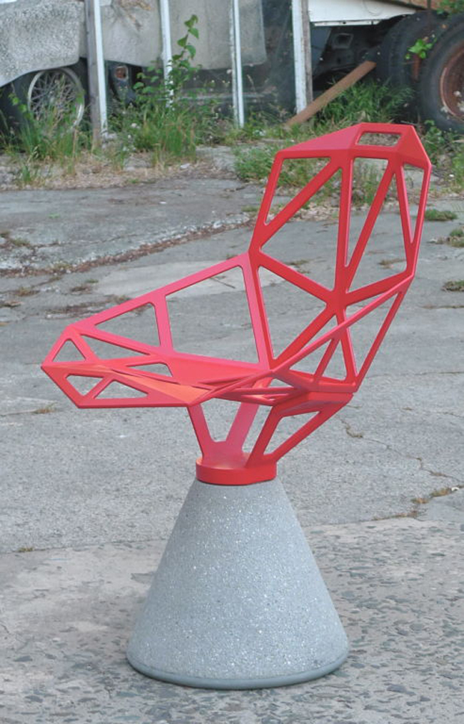 """""""Chair One"""" * Konstantin Grcic 5 Chair One"""