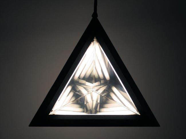 Unique triangular lamp by Rosie Li  Unique Triangular Lamp * by designer Rosie Li 5 Stella