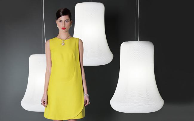 5. benjamin hubert Benjamin Hubert * Loom Organic Textile Lamp