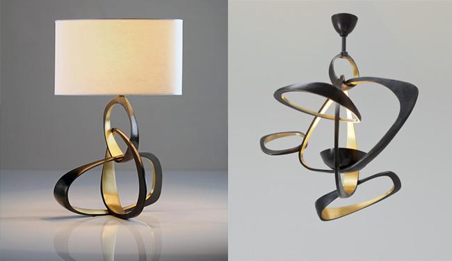 Hervé Van der Straeten *  Hand-craft Exclusive Design Herve   Van der Straeten LUSTRE VOLUBILE 306 LAMPE VOLUBILE PM 321