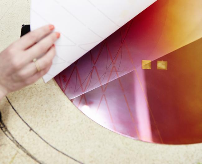 iridescent web 20 IRIDESCENT COPPER * Studio Besau Marguerre