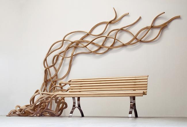 spaghetti bale by pablo reinoso designgallerist Amazing design * Pablo Reinoso