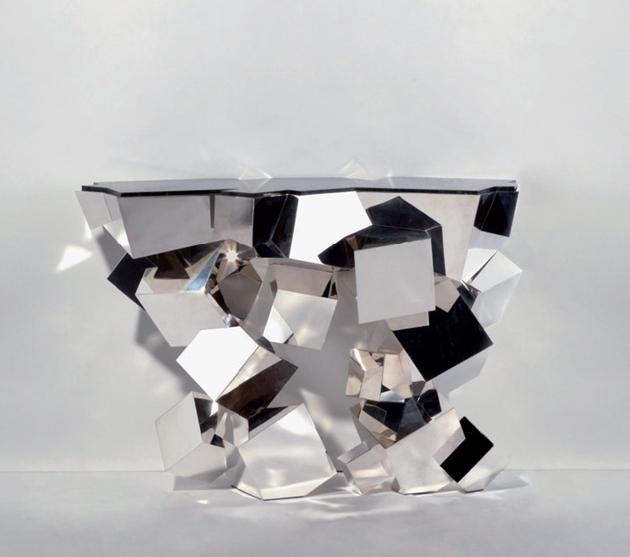 The Furniture Hot List Van Der Straeten silver console
