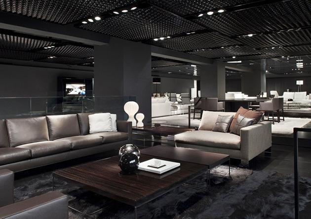 Minotti Celebrates Italian Design * Architect Digest interior design news minotti new york store delightfull unique lamps 04