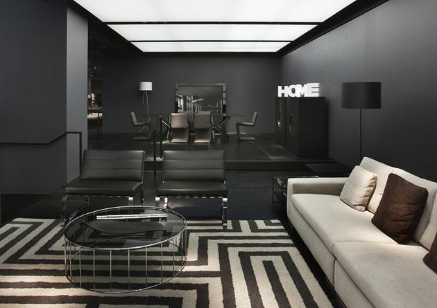 Minotti Celebrates Italian Design * Architect Digest interior design news minotti new york store delightfull unique lamps 05