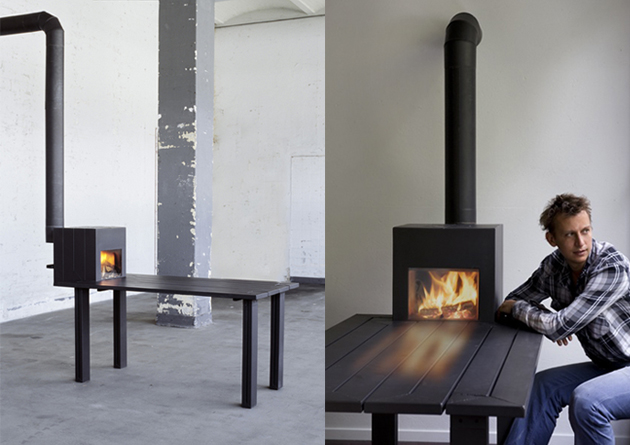 Reiner Boscn stove- tablefrontpage - Life, death and contemporary design