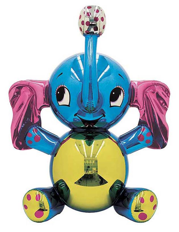 Jeff Koons * Contemporary Balloon Dog Jeff Koons Contemporary balloon dog elephant