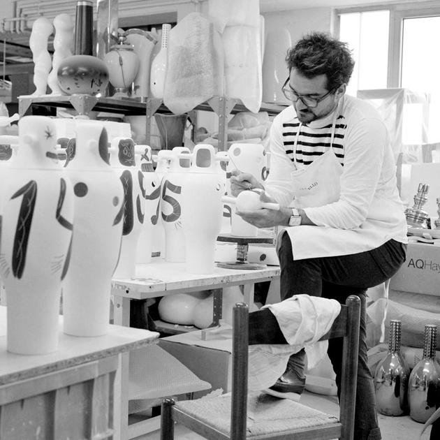Contemporary Hand-painted Vases * Jaime Hayon 0