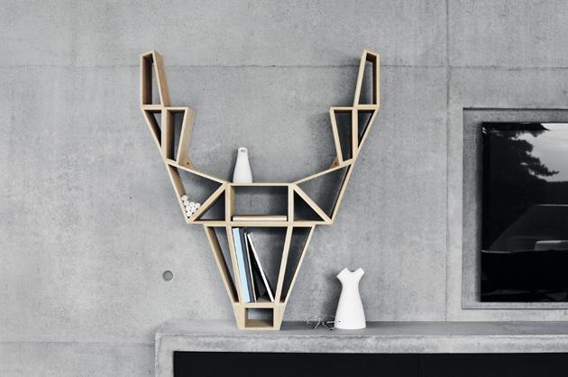 Exclusive Interview * BEdesign 1 Exclusive interview deer shelf design