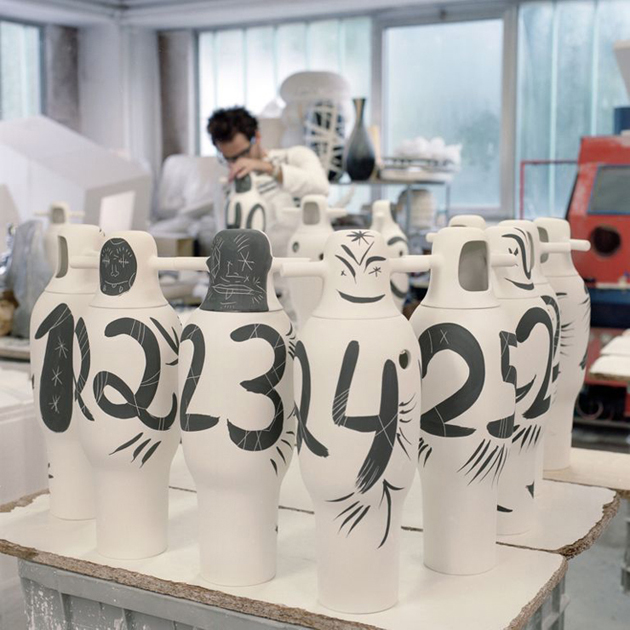 Contemporary-Hand-painted-Vases-Jaime-Hayon  Contemporary Hand-painted Vases * Jaime Hayon 2