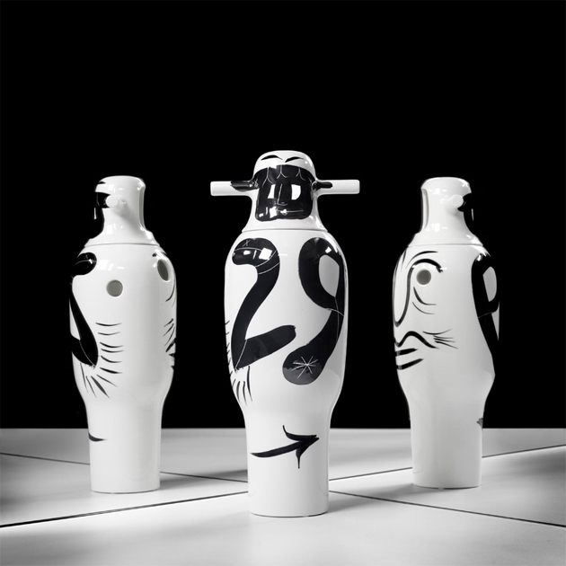 Contemporary-Hand-painted-Vases-Jaime-Hayon  Contemporary Hand-painted Vases * Jaime Hayon 4