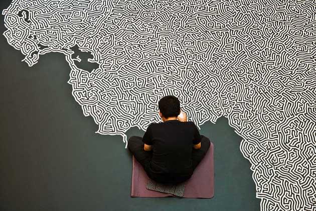 Motoi Yamamoto * Large-scale Installations 2 motoi yamamoto saltscape installation