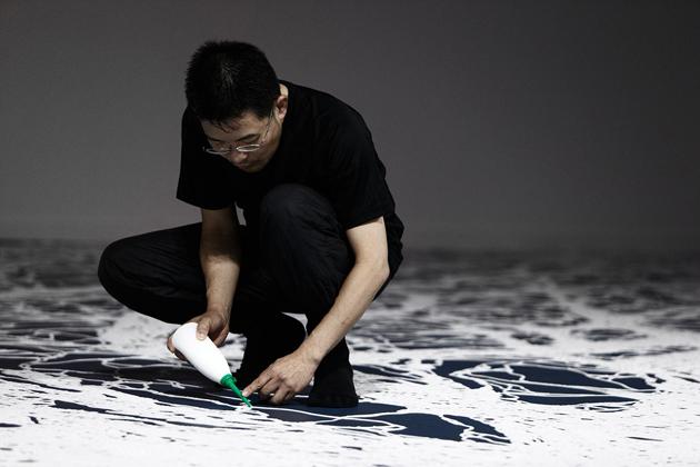 5-motoi-yamamoto-saltscape-installation  Motoi Yamamoto * Large-scale Installations 5 motoi yamamoto saltscape installation