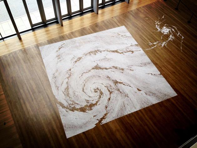 Motoi Yamamoto * Large-scale Installations 6 motoi yamamoto saltscape installation