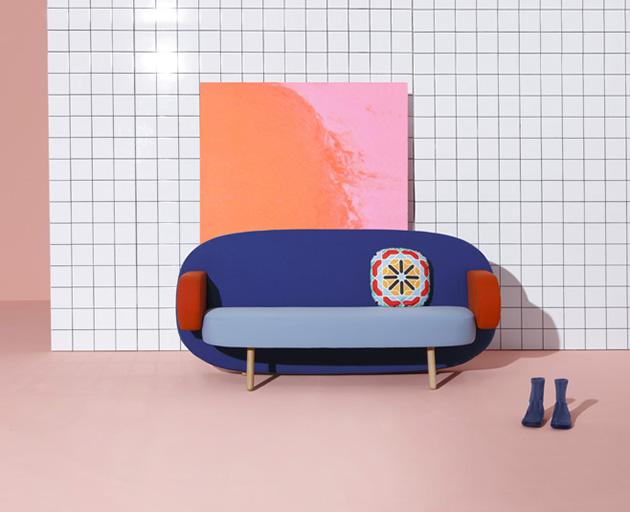 Sancal's*Geometric Float sofa Sancal contemporary Float sofa