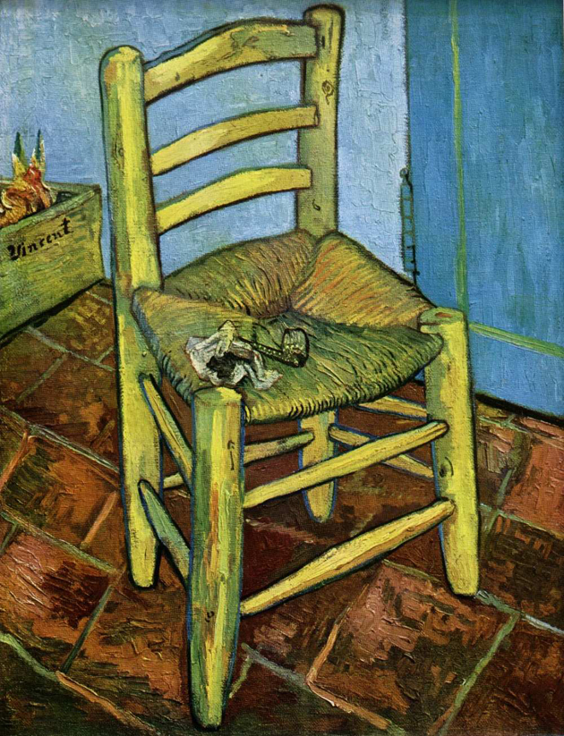 Trendy Vincent chairs*Alberto Biagetti  vincents chair with his pipe van gogh
