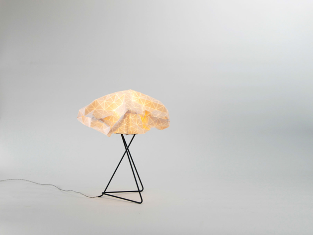 Special Lamps Origami-Inspired Fabric * Mika Barr Ori Lamps By Producks and Mika Barr 1