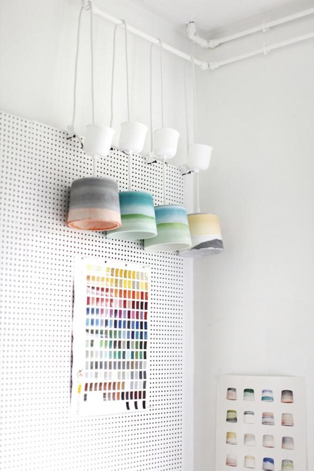 New contemporary Rainbow Light-JULIEN RENAULT Rainbow LightJULIEN RENAULT design process workshop