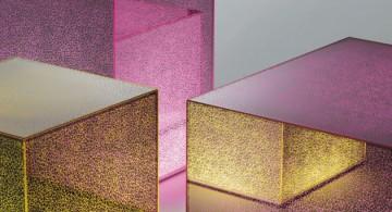 New collection glass furniture * Glas Italia  New collection glass furniture * Glas Italia GlasItalia 2014 CRACK 02 360x195