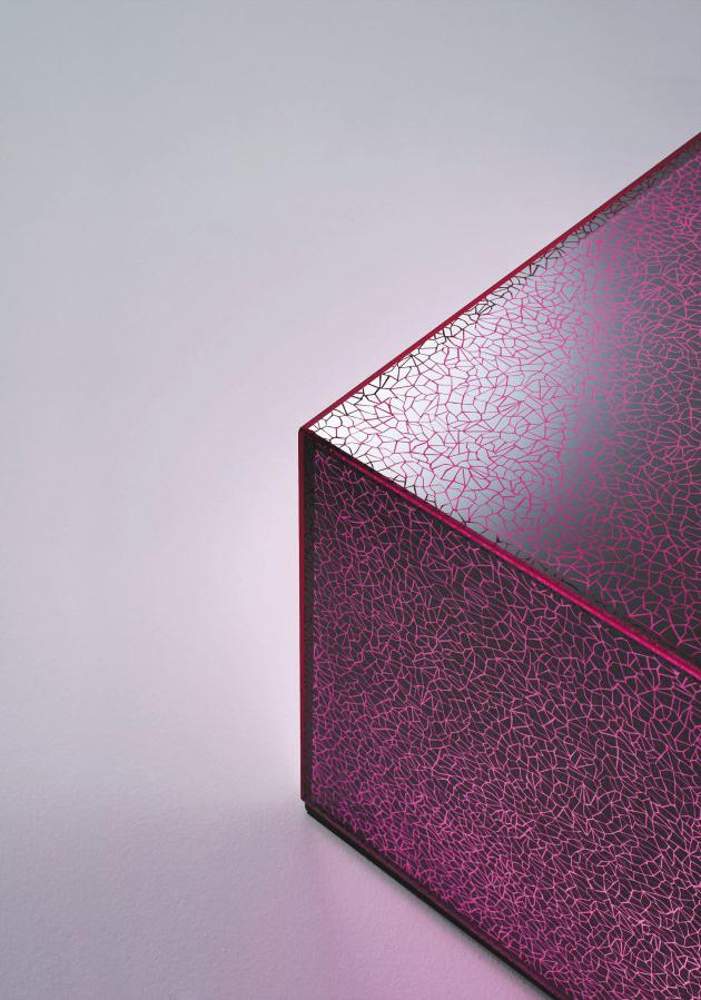 Glas Italia new collection 2014  New collection glass furniture * Glas Italia GlasItalia 2014 CRACK 03 600x899