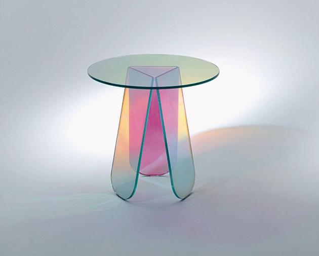 Glas Italia new collection 2014  New collection glass furniture * Glas Italia SHIMMER 0 635