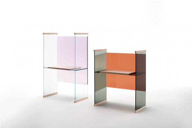 Glas Italia new collection 2014  New collection glass furniture * Glas Italia f270 glas italia 2014 diapositive 02 large