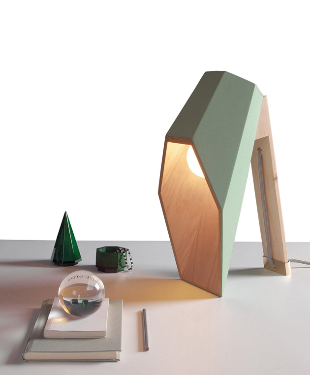 Woodspot table lamp for Seletti by Alessandro Zambeli  Wood Table Lamp*Seletti by Alessandro Zambelli Woodspot Alessandro Zambelli Seletti 2
