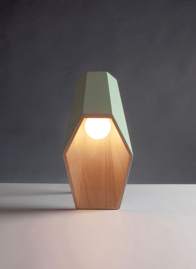 Woodspot table lamp for Seletti by Alessandro Zambeli  Wood Table Lamp*Seletti by Alessandro Zambelli Woodspot Alessandro Zambelli Seletti 3