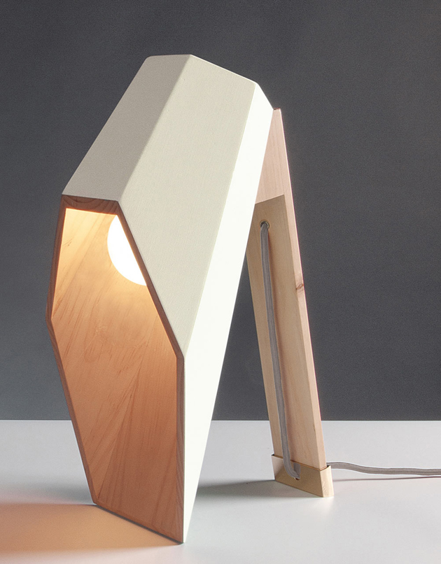Woodspot table lamp for Seletti by Alessandro Zambeli  Wood Table Lamp*Seletti by Alessandro Zambelli Woodspot Alessandro Zambelli Seletti 5
