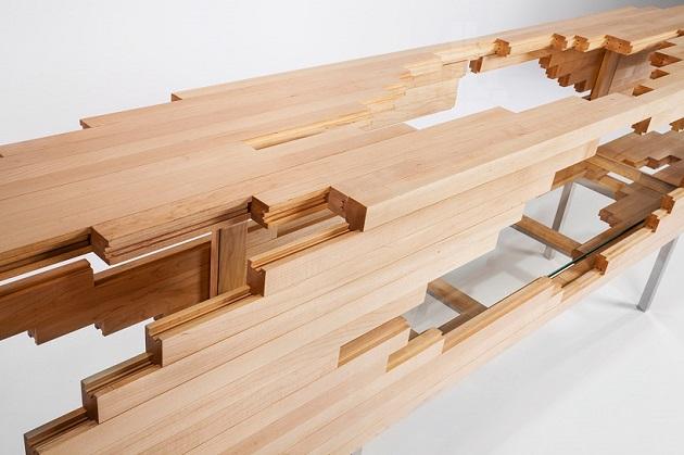 Contemporary Design Explosion Cabinet  by Sebastian Errazuriz in Design Gallerist