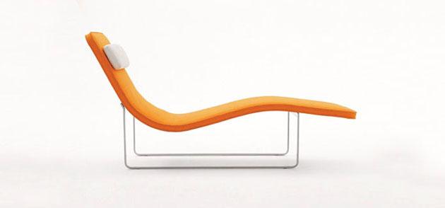 landscape chair mid century  'Landscape' chaise mid century * Jeffrey Bernett landscape01dailyicon